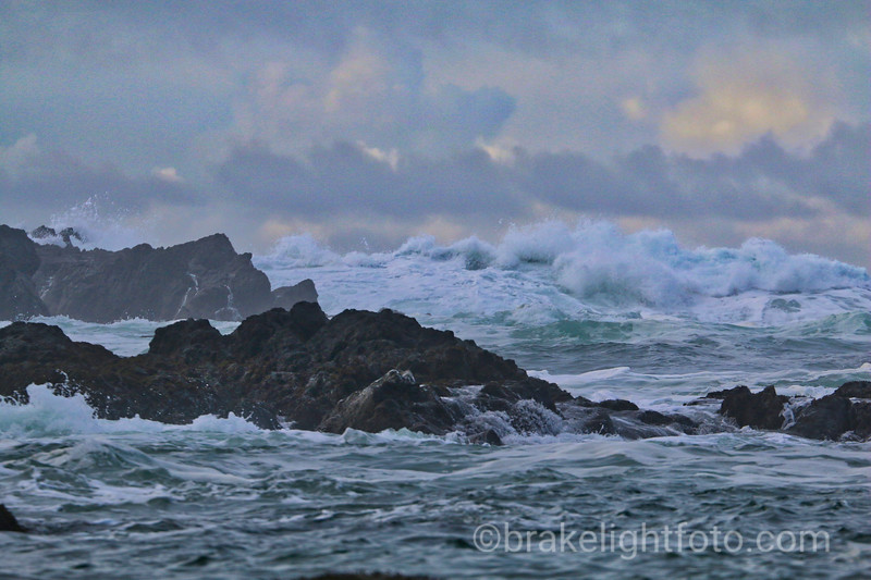 Breaking Waves and Rocky Reefs