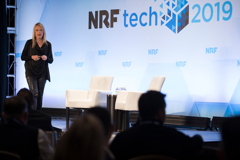 Mary Beth Laughton at NRFtech 2019