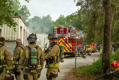 Structure Fire - Hudson, FL, Pasco County - 6/23/21