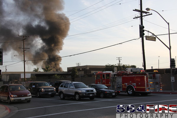 LACoFD - Commercial Fire - 9-10-09