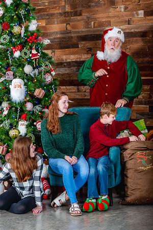 The Evans Kids & Santa - Final