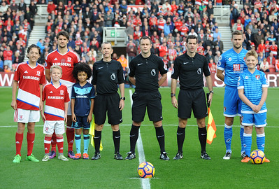 Cody's Big Day,  Match Mascot Middlesbrough v Bournemouth 29.10.2016
