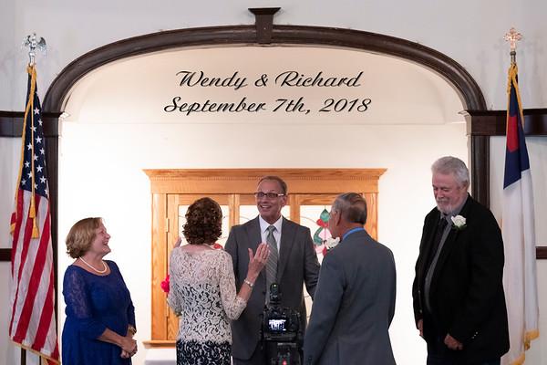 Wendy & Richard Wedding