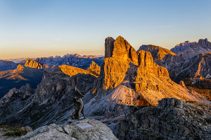 From Rifugio Nuvolau, Dolomites 6900