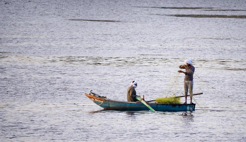 Nile River Fishermen