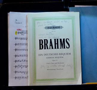 Brahms -- Ein Deutsches Requiem