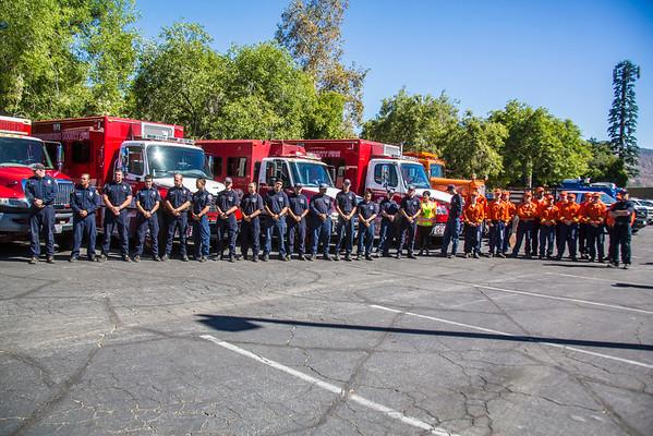 Wildfire Season Press Conference, 9-29-15