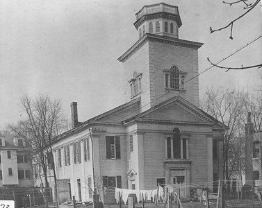 Historical Photos of Bulfinch Church in Pittsfield