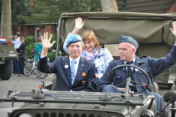 Veteranendefilee Zoetermeer