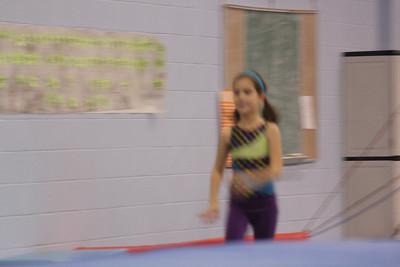 Alexa's gymnastics 2012