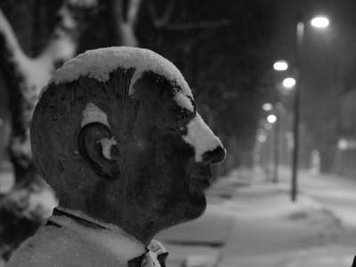 Winter Monochrome (mostly Laisvės Alėja )