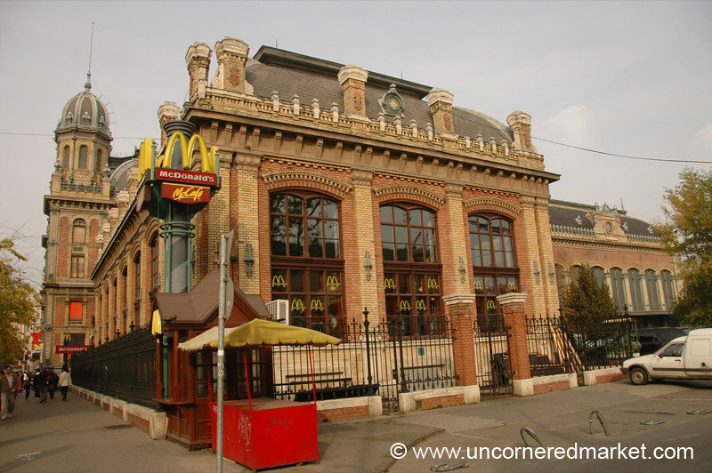 Classy Budapest McDonald's - Budapest, Hungary