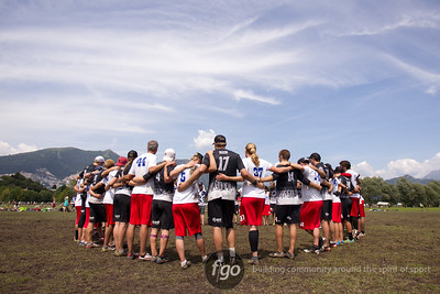 8-6-14 USA Drag'N Thrust v Canada Stache Mixed Division Tuesday Matchup at WFDF 2014 World Ultimate Club Championships