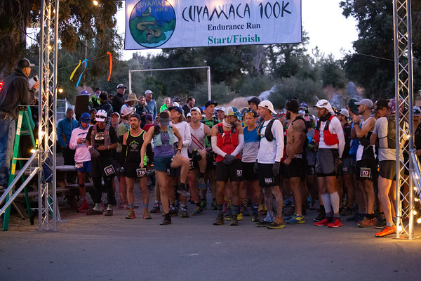 Cuyamaca 100K - Start