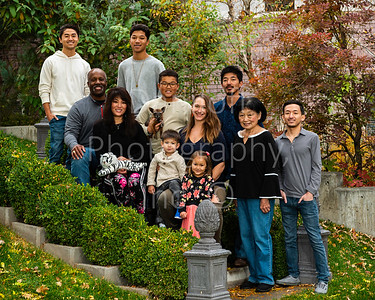 Akimoto-Roberson Family Group Portrait