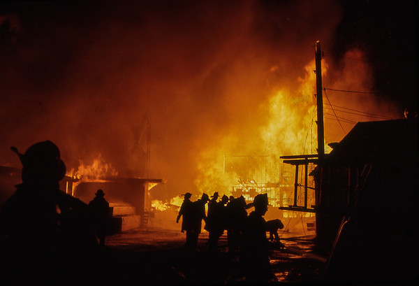 Evergreen Lumber Yard Fire 1967