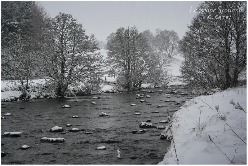 River Isla near Kirkton of Glenisla
