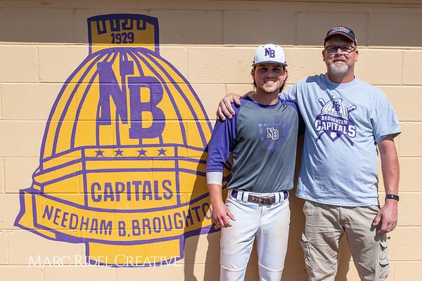 Broughton varsity baseball vs Sanderson. April 24, 2019. 750_0140