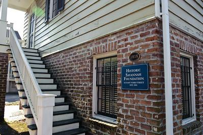 2010 TOH Historic Savannah Foundation Sign