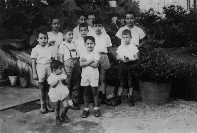 Jose' Cardoso, irmãos Pinto Soares:Jorge, Nuno e Jose' Carlos, Pedro Baptista