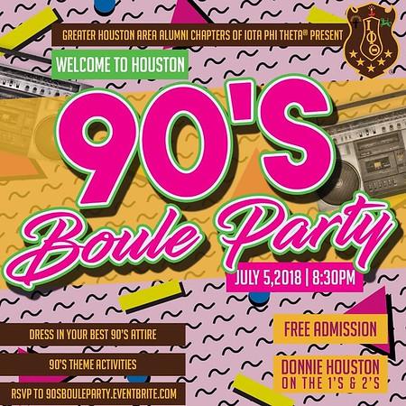 AKA Boule - 90's Party with Iota Phi Theta®