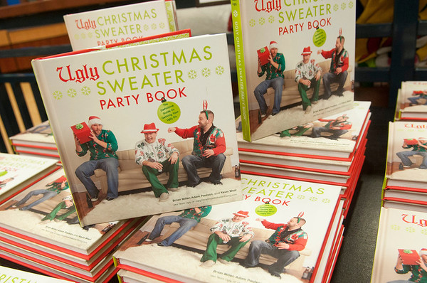 Ugly Christmas Sweater Book Signing