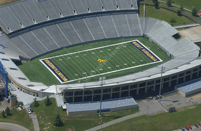 22275 AERIAL SHOTS OF FOOTBALL COMPLEX AND CAMPUS