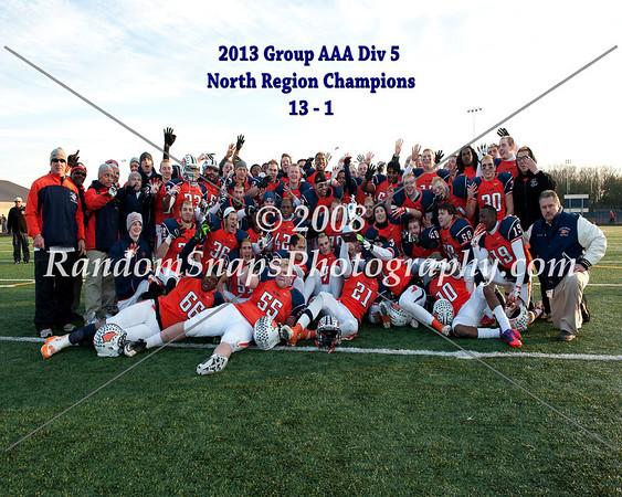 North Stafford @ Briar Woods -- D5 North Region Final -- 12/07/2013