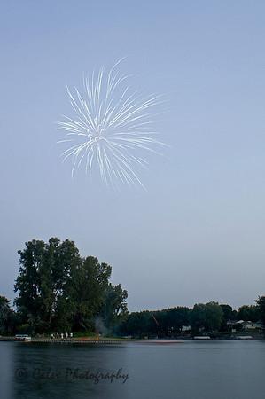 Fireworks shoot 2008