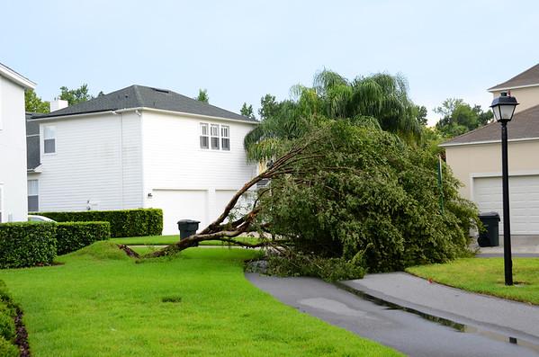 Freak East Village Storm Damage July 10