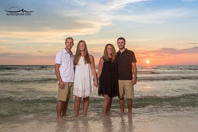 The Johnson Family - Panama City Beach 2017