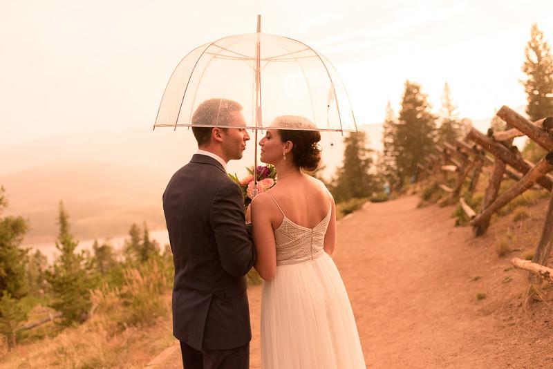 Sapphire Point Intimate Wedding
