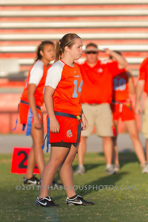Boone Varsity Flag Football - 2011 #14
