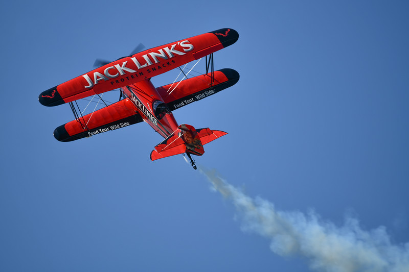 Jack LInks Jet Powered Waco Demo