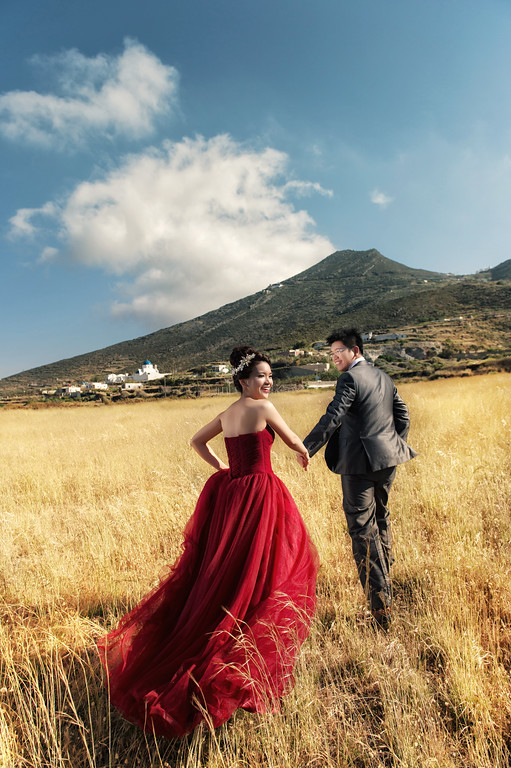 Donfer, 海外婚紗, World tour, 東法, EASTERN WEDDING, 世界旅拍,聖托里尼, Santorini, 希臘婚紗