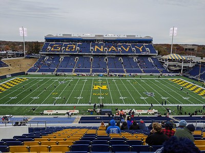 Navy Football vs SMU (2019-11-23)