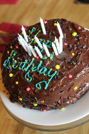 Calla's 13th Birthday Cake
