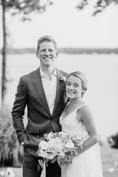 Jay + Emily's Lake Wedding