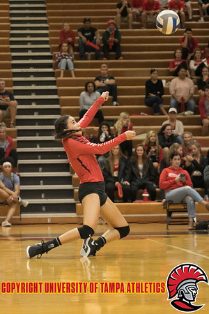 2018 Volleyball vs. Barry