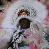 Semolian Warriors Mardi Gras Indians First Day of Jazz Fest 2013 at the Jazz & Heritage Stage