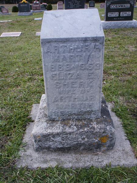 Arthur R. Martin and Eliza E. Sherk