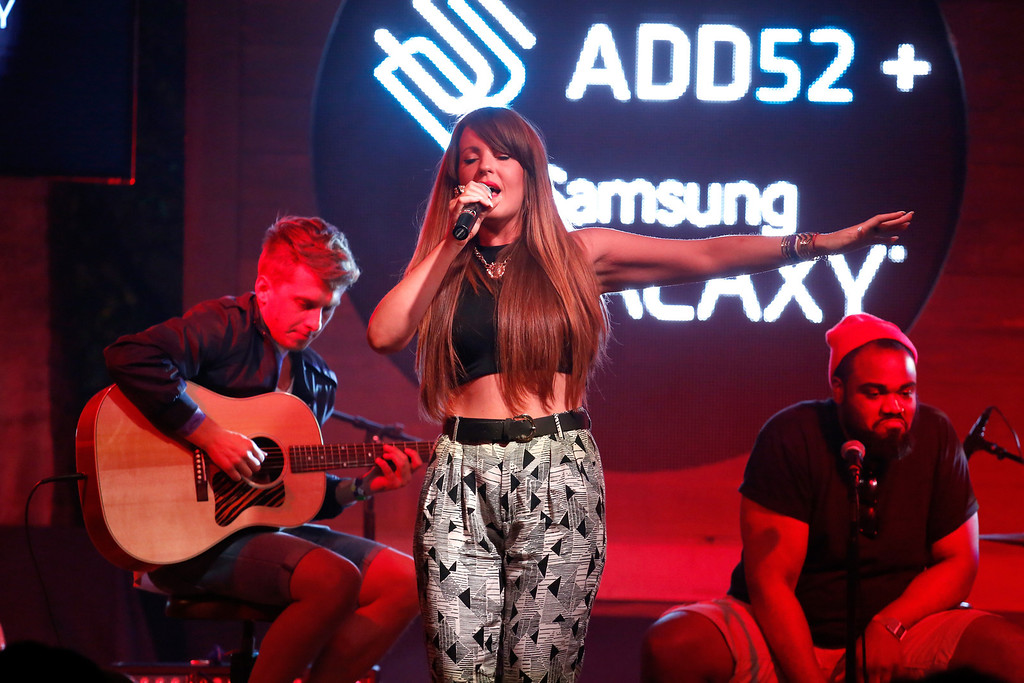 . Musical artist Juliette Ashby performs at the All Def Digital (ADD) and All Def Music with Samsung launch of ADD52 at SXSW on March 11, 2014 in Austin, Texas.  (Photo by Rick Kern/Getty Images for Samsung)