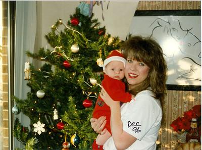 Christmas 1996  & Jack III Baby Dedication