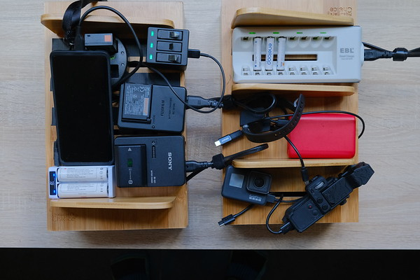 Cable Management Charging Station