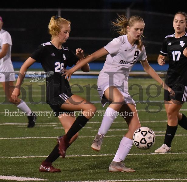 Seneca Valley vs Butler WPIAL Class 4A girls soccer  game at Nextier Stadium