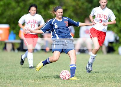 Delmar Varsity Girls Soccer vs Laurel