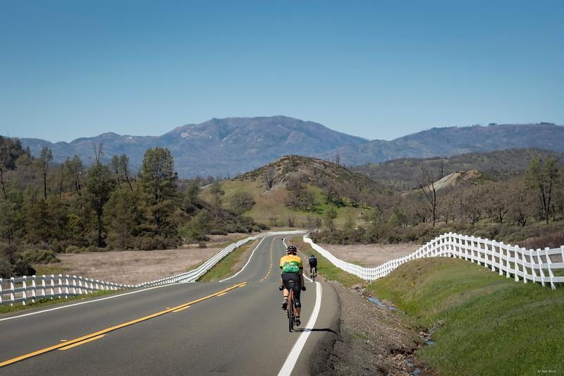 Heading for Cobb Mountain