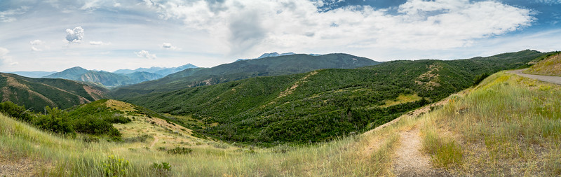 Deer Creek Overlook Panorama