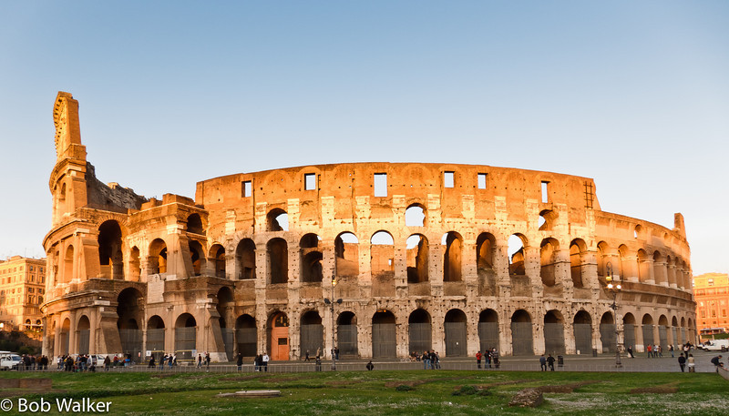 My favorite shot of the Colosseum