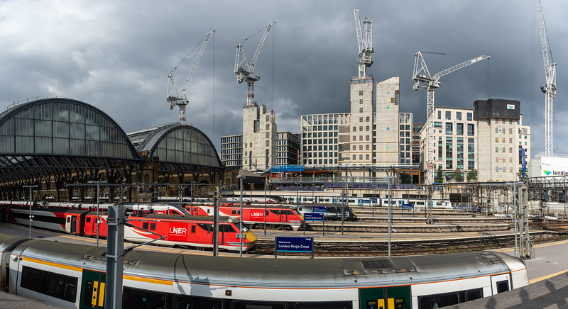 King's Cross and Google construction